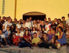 Comunidade católica de Mangabeira realiza missão no bairro Ferreiro Torto