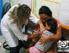 Macaíba ultrapassa meta de vacinação contra a Gripe