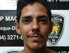 Polícia Civil prende suspeito por tráfico de drogas em Macaíba