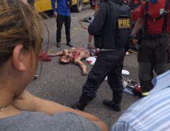 Ônibus escolar da prefeitura de Nova Cruz se envolve em grave acidente com vítima fatal