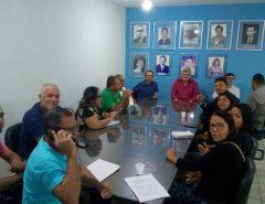 Prefeito de Macaíba, Dr. Fernando, e seu vice Auri Simplício recebem representantes do Bosque Brasil