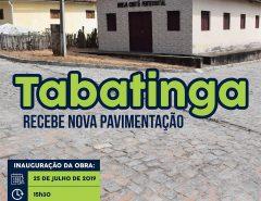 Prefeito de Macaíba inaugura mais uma obra nesta quinta-feira (25)