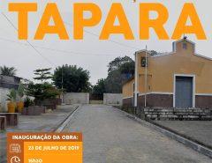 Macaíba: Inauguração no Tapará nesta terça-feira (23)
