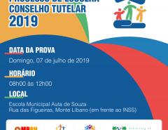 Exame para os pré-candidatos do Conselho Tutelar de Macaíba ocorre domingo na Escola Auta de Souza