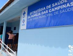 Macaíba: Prefeitura entrega novas instalações do posto de saúde das Campinas