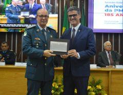 RN: Polícia Militar recebe homenagem pelo seu aniversário de 185 anos