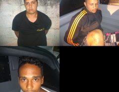 Três homens são presos em Macaíba com duas motos roubadas
