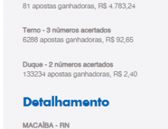 Macaíba: Macaibense ganha sozinho mais de um milhão de reais na quina