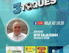 Dito Cajazeiras concede entrevista ao programa Três Toques