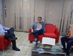 Prefeito Fernando Cunha recebe visita do deputado estadual Coronel Azevedo