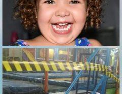 Menina de 3 anos sofre choque elétrico em parque de diversão no interior do RN