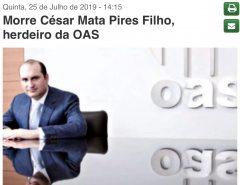 Morre herdeiro da OAS que no começo do mês sofreu infarto durante audiência da lava jato