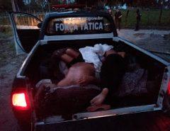 Cinco bandidos morrem em confronto com a polícia em São Gonçalo do Amarante