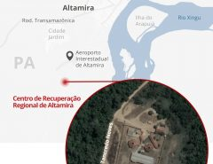 Rebelião deixa 52 mortos no presídio de Altamira, sudoeste do Pará