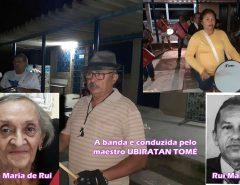 BANDA MARCIAL DOS EX-ALUNOS DO ALFREDO MESQUITA FAZ HOMENAGEM EMOCIONANTE A DONA MARIA DE RUI
