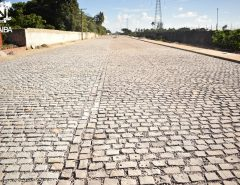 Macaíba: Pé do Galo ganha nova obra de pavimentação em acesso ao Distrito Industrial