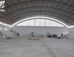 Macaíba: Reforma de ginásio da Vila São José prossegue e está em fase avançada