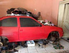 Polícia Civil prende homem em desmanche de veículos em Macaíba