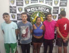 Operação policial contra tráfico de drogas prende quatro pessoas em Jardim do Seridó