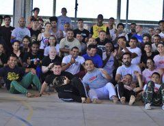 Encontro nacional de capoeira segue na Vila Olímpica de Macaíba