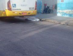 Em Natal, cadeirante morre atropelado por ônibus