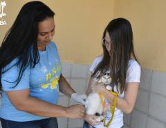 Em Macaíba, Prefeitura realiza campanha de vacinação antirrábica