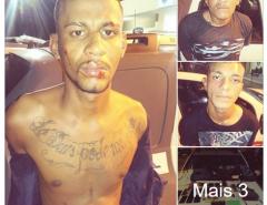 Três bandidos foram presos após tomarem carro de assalto em Natal