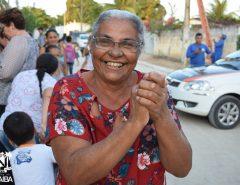 Macaíba: população comemora pavimentação em Canabrava