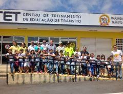 Fotos: Alunos da rede pública de Macaíba visitam CETET de Natal