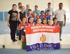 Fotos: Vila Olímpica de Macaíba sediou as atividades de ginástica artística dos Jerninhos