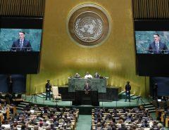 EM DISCURSO NA ONU, BOLSONARO DESTACA RIQUEZA DA AMAZÔNIA