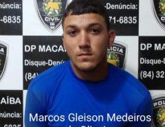 Delegado detalha operação da Polícia Civil que prende dois homens por receptação e adulteração de veículo em Macaíba