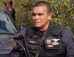 Sargento baleado com tiro de fuzil em assalto a carro forte na BR-226 será transferido para Natal