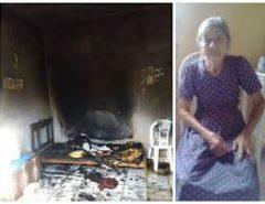 Idosa de 84 anos morre carbonizada enquanto dormia no interior do RN