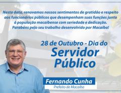 Mensagem do Dia do Servidor Público