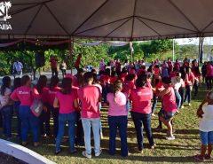 Em Macaíba, grande evento do Outubro Rosa movimenta Praça Paulo Holanda