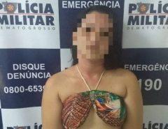 SUBORNO INUSITADO: Mulher é presa com carro roubado e oferece sexo para ser solta