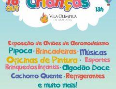 Prefeitura de Macaíba promove grande festa do Dia das Crianças na Vila Olímpica