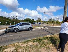Em Natal, novo acidente de trânsito na Rota do Sol deixa pessoa ferida