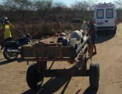 Carroceiro é baleado às margens da BR-110, em Mossoró