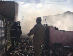 Incêndio atinge casas na Zona Oeste de Natal