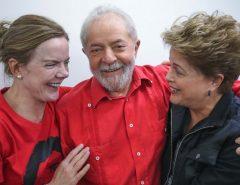 """Delírios: Reeleita no PT, Gleisi define meta em 2022: """"Quero Moro preso e Lula presidente"""""""