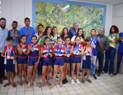 Em Macaíba, Prefeitura homenageia atletas da Vila Olímpica