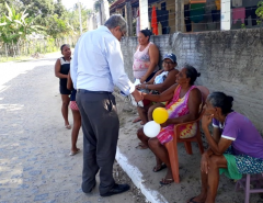 Macaíba: Prefeito Dr. Fernando visita obra de drenagem nas Campinas