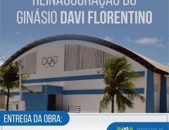 Macaíba: Prefeito Dr. Fernando reinaugura ginásio da Vila São José nesta quinta-feira (05/12)