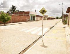 Macaíba: Prefeitura conclui obra de pavimentação no Loteamento Santa Rosa