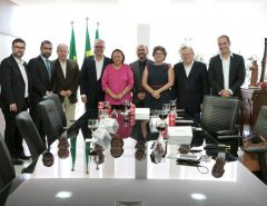 Governadora Fátima trata de parceria com a Coca-Cola para o Museu da Rampa
