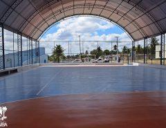 Com emenda destinada pelo então deputado federal Felipe Maia, Prefeitura de Macaíba vai construir quadra de esportes no Bosque Brasil