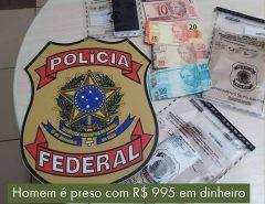 Em Natal gari é preso com dinheiro falso