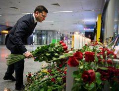 Presidente da Ucrânia pede justiça e indenização do Irã por ataque a avião